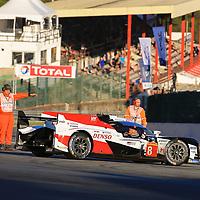 #8, Toyota Gazoo Racing, Toyota TS050 Hybrid, LMP1H, driven by: Sebastien Buemi, Kazuki Nakajima, Fernando Alonso, FIA WEC 6hrs of Spa 2018, 05/05/2018,