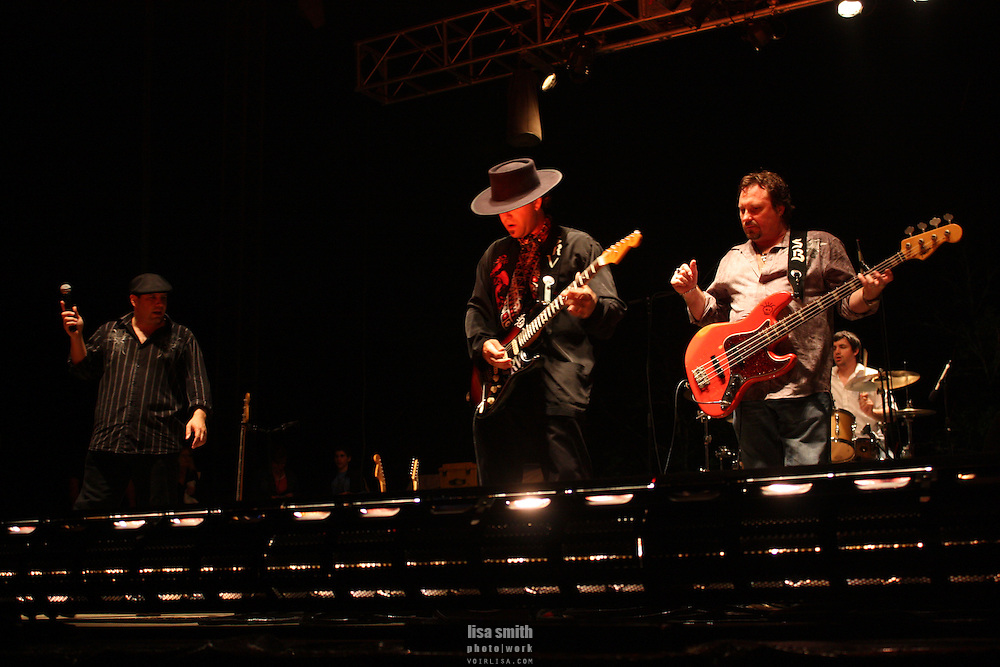 Voodoo Blue plays at Bowl of Blues Plano Texas Oak Point Amphitheater April 17 2010