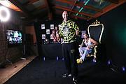"""Dr. Sindsen: Modenschau - Livestream, """"Wir setzen ein Zeichen - Gegen Mobbing, Berlin, 18.07.2020<br /> Boxer Ronny Gabel<br /> © Torsten Helmke"""
