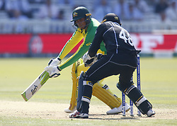 June 29, 2019 - London, United Kingdom - Usman Khawaja of Australia.during ICC Cricket World Cup between New Zealand and Australia at the Lord's Ground on 29 June 2019 in London, England. (Credit Image: © Action Foto Sport/NurPhoto via ZUMA Press)