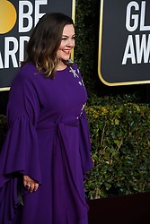 January 6, 2019 - Los Angeles, California, U.S. - Melissa McCarthy during red carpet arrivals for the 76th Annual Golden Globe Awards at The Beverly Hilton Hotel. (Credit Image: © Kevin Sullivan via ZUMA Wire)