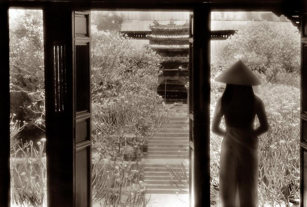 Girl in Ao Dai - Hue, Vietnam