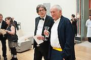 ALAN RUSBRIDGER; SIR RICHARD ROGERS, Royal Academy Annual Dinner 2013. Piccadilly. London. 4 June 2013.
