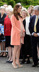 The Duchess of Cambridge visits Naomi House Children's Hospice to Celebrate Children's Hospice Week, Winchester, Hampshire, UK, Monday 29 April 2013. Photo by: Steve Finn / i-Images