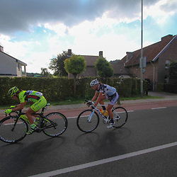 Boels Rental Ladies Tour Bunde-Valkenburg (82) Marta Tagliaferro and (43) Chantal Blaak