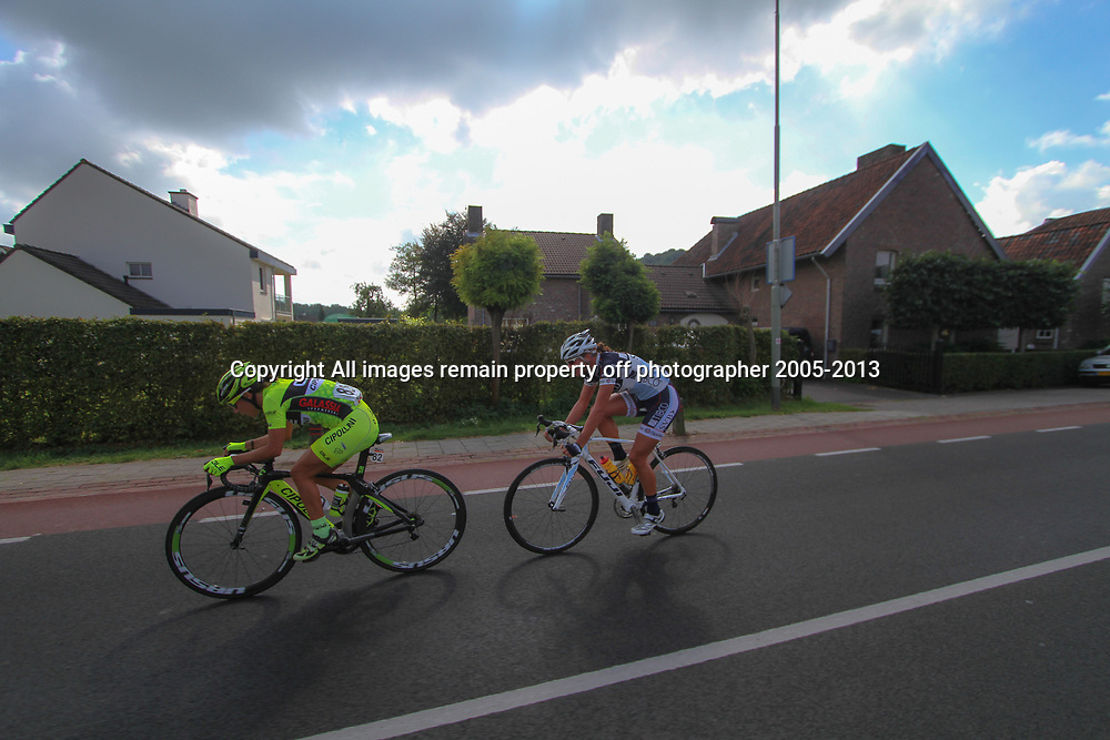 Boels Rental Ladies Tour Bunde-Valkenburg (82) Marta Tagliaferro and (43) Chantal Blaak