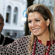 NLD/Utrecht/20150204 - Koningin Maxima bezoekt het Social Pouwerhouse Symposium 'Serious Social Value , Koningin Maxima
