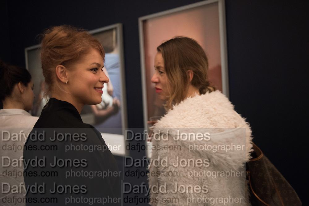 VERA BARDO; SVETLANA SHEBA; , Private view of the Taylor Wessing Portrait prize, National Portrait Gallery, London.  15 November 2016