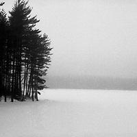 Winter at Cooper's Lake Upstate NY