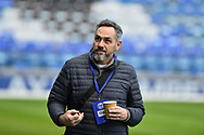 Guy Whittingham during the EFL Sky Bet League 1 match between Portsmouth and Sunderland at Fratton Park, Portsmouth, England on 22 December 2018.
