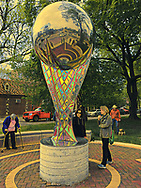 Public Art in the Beverly neighborhood of Chicago
