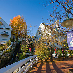 The Inn at Mill Falls and Mill Falls Marketplace  in Meredith, New Hampshire.