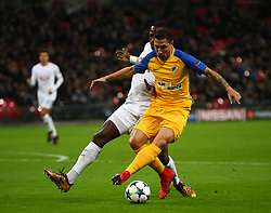 December 6, 2017 - London, England, United Kingdom - Roberto Lago of Apoel Nicosia..during the Champions  League Group G  match between Tottenham Hotspur and Apoel Nicosia at Wembley stadium , London, England on 6 Dec 2017. (Credit Image: © Kieran Galvin/NurPhoto via ZUMA Press)