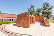 Veterans Memorial Courtyard at Saddleback College