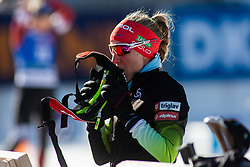 Polona Klemencic (SLO) during the Women 15 km Individual Competition at day 2 of IBU Biathlon World Cup 2019/20 Pokljuka, on January 23, 2020 in Rudno polje, Pokljuka, Pokljuka, Slovenia. Photo by Peter Podobnik / Sportida