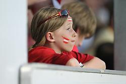 11.08.2010, Waldstadion Pasching, Pasching, AUT, UEFA U21 EM Qualifikation, Oesterreich vs Weissrussland, im Bild Fan von Oesterreich, EXPA Pictures © 2010, PhotoCredit: EXPA/ R. Hackl / SPORTIDA PHOTO AGENCY