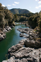 New Zealand, South Island, Pelorus River Bridge scenic view on road from Nelson to Marlborough. Photo copyright Lee Foster. Photo #126144