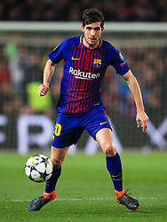 Sergi Roberto of Barcelona - Mandatory by-line: Matt McNulty/JMP - 14/03/2018 - FOOTBALL - Camp Nou - Barcelona, Catalonia - Barcelona v Chelsea - UEFA Champions League - Round of 16 Second Leg