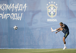 June 29, 2018 - Sochi, Russia - Brazil's NEYMAR attends a training session prior to the 2018 FIFA World Cup Knockout Phase in Sochi. Brazil plays Mexico on Monday July 2. (Credit Image: © Fei Maohua/Xinhua via ZUMA Wire)