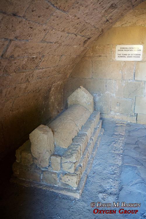 Tomb Of Ottoman Admiral Sadik Pasha, Girne Castle