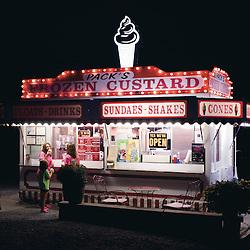 October 5, 2013- Luray, VA - Packs Frozen Custard in Luray, Va.