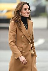Duchess of Cambridge visits HMP Send - 23 Jan 2020