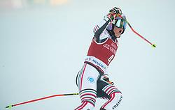 Tessa Worley (FRA) reacts during 2nd Run of Ladies' Giant Slalom at 57th Golden Fox event at Audi FIS Ski World Cup 2020/21, on January 16, 2021 in Podkoren, Kranjska Gora, Slovenia. Photo by Vid Ponikvar / Sportida
