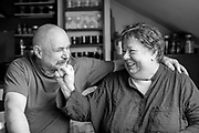 Czech photographer Libuše Jarcovjáková with former husband Frantisek in her Prague home. Libuše Jarcovjáková's work is an authentic record of the life of a photographer who experienced everything she shot. She uses a personal, clearly-composed style, mixing the raw with the poetic. The street, night, sex, work, alcohol, love, and depression are captured with a self-destructive lack of restraint.