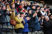 Preston North End fans..Football - npower Football League Division One - Milton Keynes Dons v Preston North End - Saturday 02nd March 2013 - Stadium:mk - Milton Keynes..© CameraSport - 43 Linden Ave. Countesthorpe. Leicester. England. LE8 5PG - Tel: +44 (0) 116 277 4147 - admin@camerasport.com - www.camerasport.com