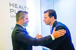 Porto Alegre, RS 10/10/2019: O prefeito, Nelson Marchezan Júnior, participou, na manhã desta quinta-feira (10), da cerimônia de Lançamento do BioHub PUCRS, inauguração do espaço Health Plus Innovation Center. Foto: Jefferson Bernardes/PMPA
