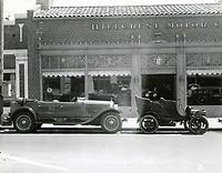 1927 Hillcrest Motor Co. at 6154 Hollywood Blvd.