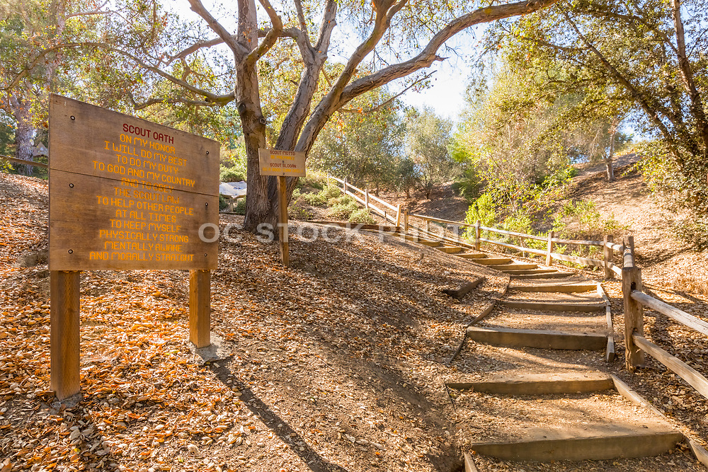 Boy Scout Oath and Motto Signs at Trail to Eagle
