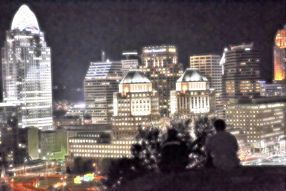 A night out at Mt. Adams in Cincinnati, Ohio