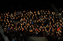 West Bromwich Albion fans watch the match from the stands -Mandatory by-line: Nizaam Jones/JMP - 24/02/2018 - FOOTBALL - The Hawthorns - West Bromwich, England - West Bromwich Albion v Huddersfield Town- Premier League
