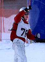 Snowboard, Norgescup Boarder-cross 16. desember 2001. Alexander Lien, Ready, vant herreklassen.