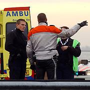 Dodelijk ongeval A27 Blaricum.politie, motorrijder, hulp, medisch, ambulance,