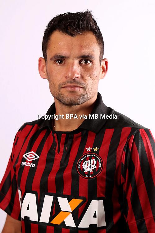"""Brazilian Football League Serie A / <br /> ( Clube Atletico Paranaense ) - <br /> Paulo Henrique Dias da Cruz """" Paulinho Dias """""""