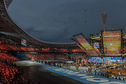 The Minsk 2019 European Games opening ceremony at the Dinamo Stadium on the 21st June 2019 in Minsk, Belarus.