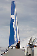 Boeing employee and company 787 Dreamliner (N787BX) at the Farnborough Airshow.