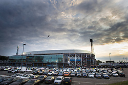 exterior view of stadion de Kuip during the First round Dutch Cup match between Feyenoord Rotterdam and Ado Den Haag at the Kuip on September 20, 2017 in Rotterdam, The Netherlands