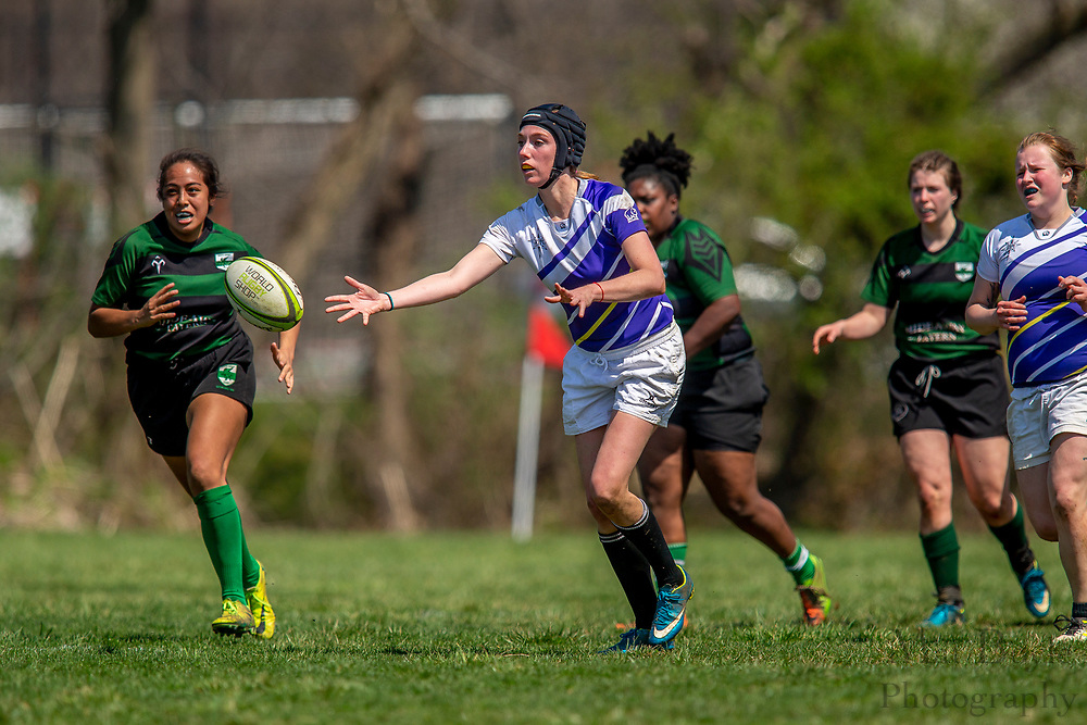 South Jersey Women's Rugby vs Lehigh Valley Women's Rugby in Cherry Hill, NJ on Saturday April 14, 2018. (photo / Mat Boyle)