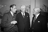 1966 - Press conference to announce merger of Dublin Dairies at Jury's Hotel