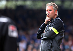 Peterborough United's manager Darren Ferguson  - Photo mandatory by-line: Joe Dent/JMP - Tel: Mobile: 07966 386802 17/08/2013 - SPORT - FOOTBALL - London Road Stadium - Peterborough -  Peterborough United V Oldham Athletic - Sky Bet League One
