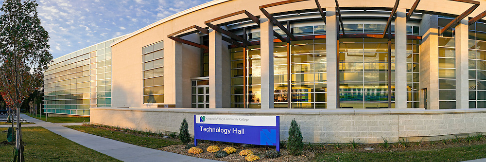The Technology Building at Naugatuck Valley Community College in Waterbury, CT