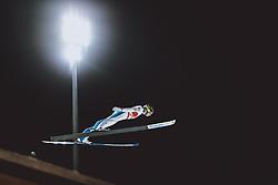 26.02.2021, Oberstdorf, GER, FIS Weltmeisterschaften Ski Nordisch, Oberstdorf 2021, Herren, Skisprung, HS106, Qualifiikation, im Bild Ziga Jelar (SLO) // Ziga Jelar of Slovenia during qualification of men ski Jumping HS106 Competition of FIS Nordic Ski World Championships 2021. in Oberstdorf, Germany on 2021/02/26. EXPA Pictures © 2021, PhotoCredit: EXPA/ JFK