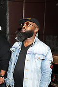 NEW YORK, NEW YORK- FEBRUARY 4: Recording Artist Black Thought backstage before THE ROOTS perform the last show at the current Highline Ballroom on February 4, 2019 in New York City.  (Photo by Terrence Jennings/terrencejennings.com)