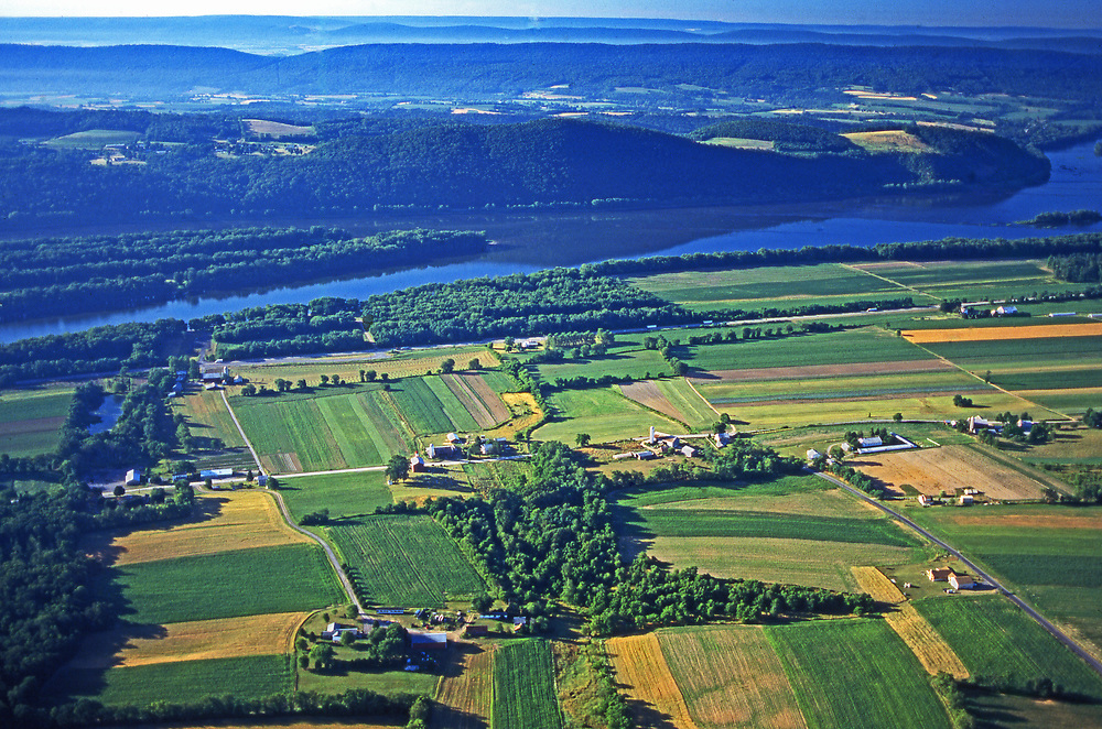 Upper Dauphin Co. PA Farms, Susquehanna River, Mountains and Valleys