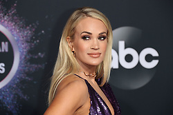 2019 American Music Awards - Arrivals. 24 Nov 2019 Pictured: Carrie Underwood. Photo credit: Jen Lowery / MEGA TheMegaAgency.com +1 888 505 6342