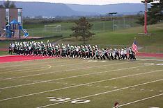 Carlisle Marching Band at ST (football) 9-30-11
