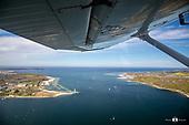 Eine Stunde im Himmel über Kiel
